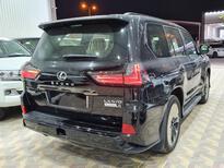 لكزس LX 570 Black Ed.فل 2021 دبل خليجي جديد للبيع في الرياض - السعودية - صورة صغيرة - 4