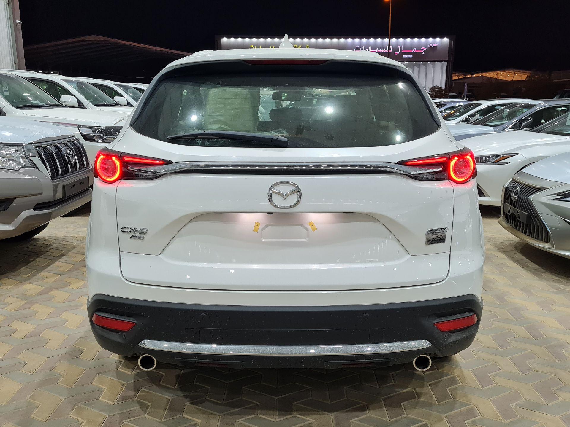 مازدا CX9 فل 2020 دبل خليجي جديد للبيع في الرياض - السعودية - صورة كبيرة - 5