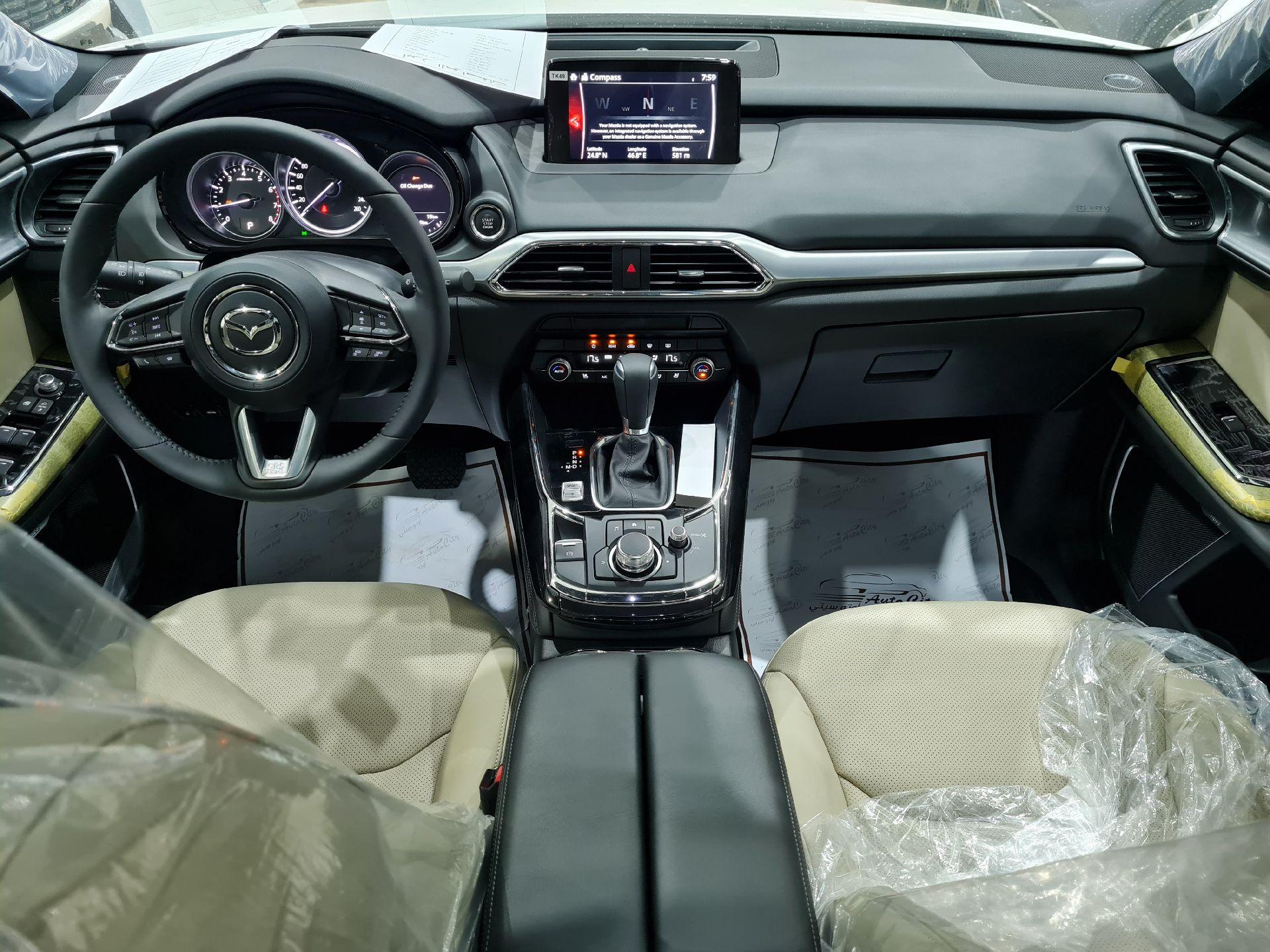 مازدا CX9 فل 2020 دبل خليجي جديد للبيع في الرياض - السعودية - صورة كبيرة - 10