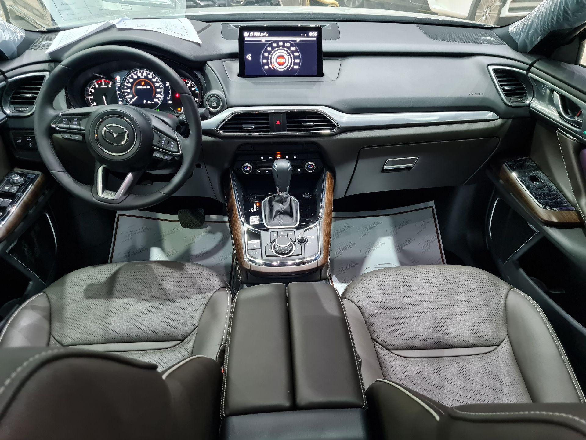 مازدا CX9 فل 2020 سجنتشر دبل خليجي جديد للبيع في الرياض - السعودية - صورة كبيرة - 11