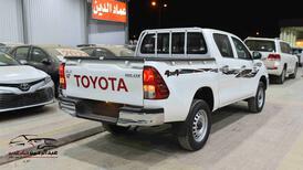 تويوتا هايلكس 2021 غمارتين GL 2 دبل   ديزل سعودي جديد  للبيع في الرياض - السعودية - صورة صغيرة - 2