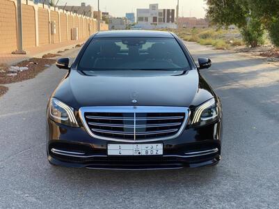 مرسيدس S سعودي 2018 فل