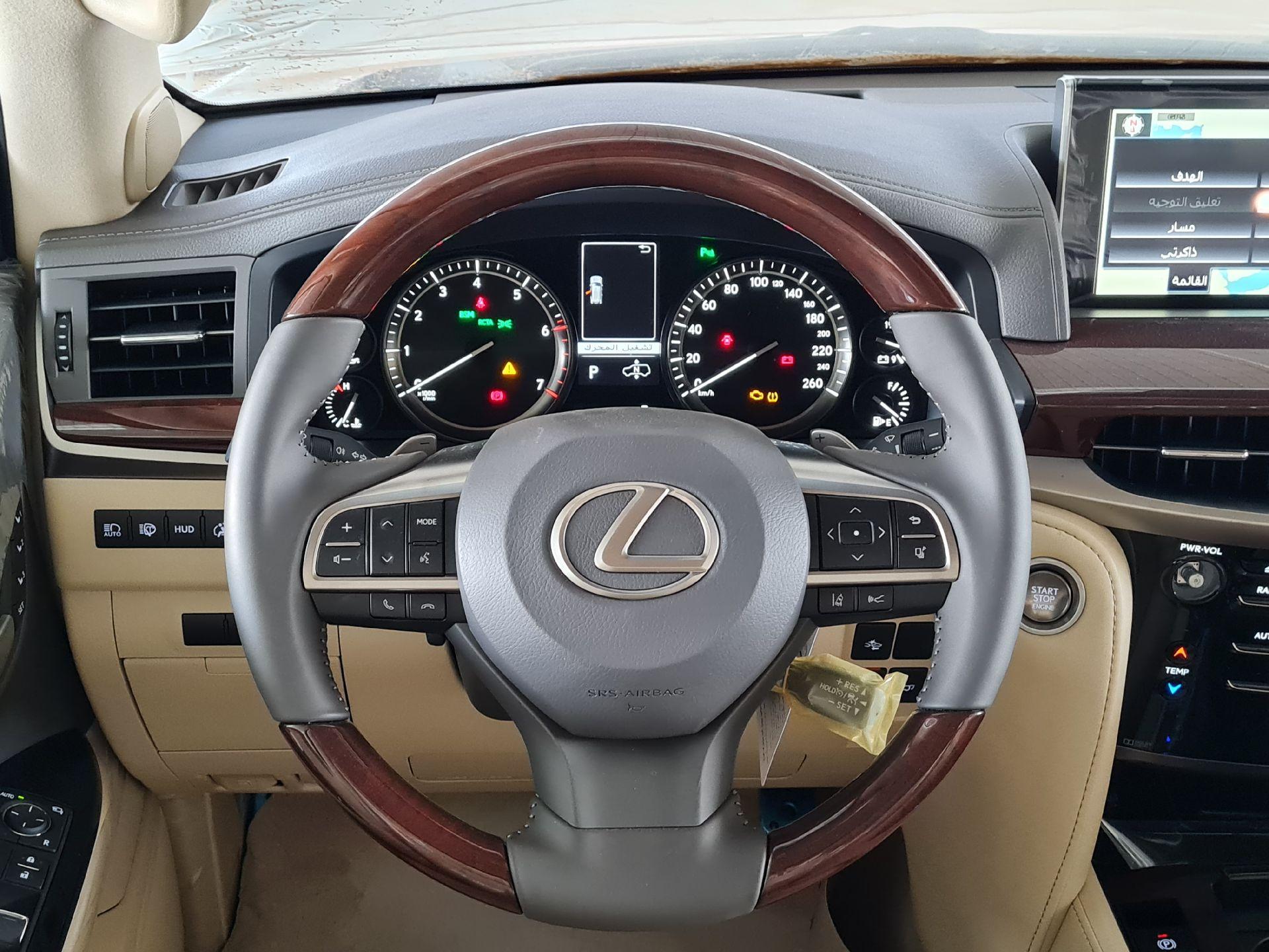لكزس LX 2021 للبيع للبيع في الرياض - السعودية - صورة كبيرة - 16