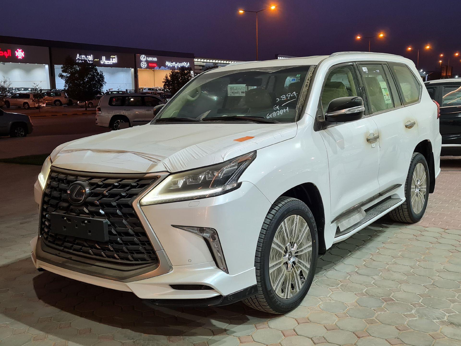 لكزس LX 570-S Sport فل 2021 دبل سعودي جديد للبيع في الرياض - السعودية - صورة كبيرة - 1