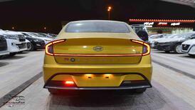 هونداي سوناتا 2020 محرك (2.5 ) سقف حديد سعودي للبيع في الرياض - السعودية - صورة صغيرة - 2