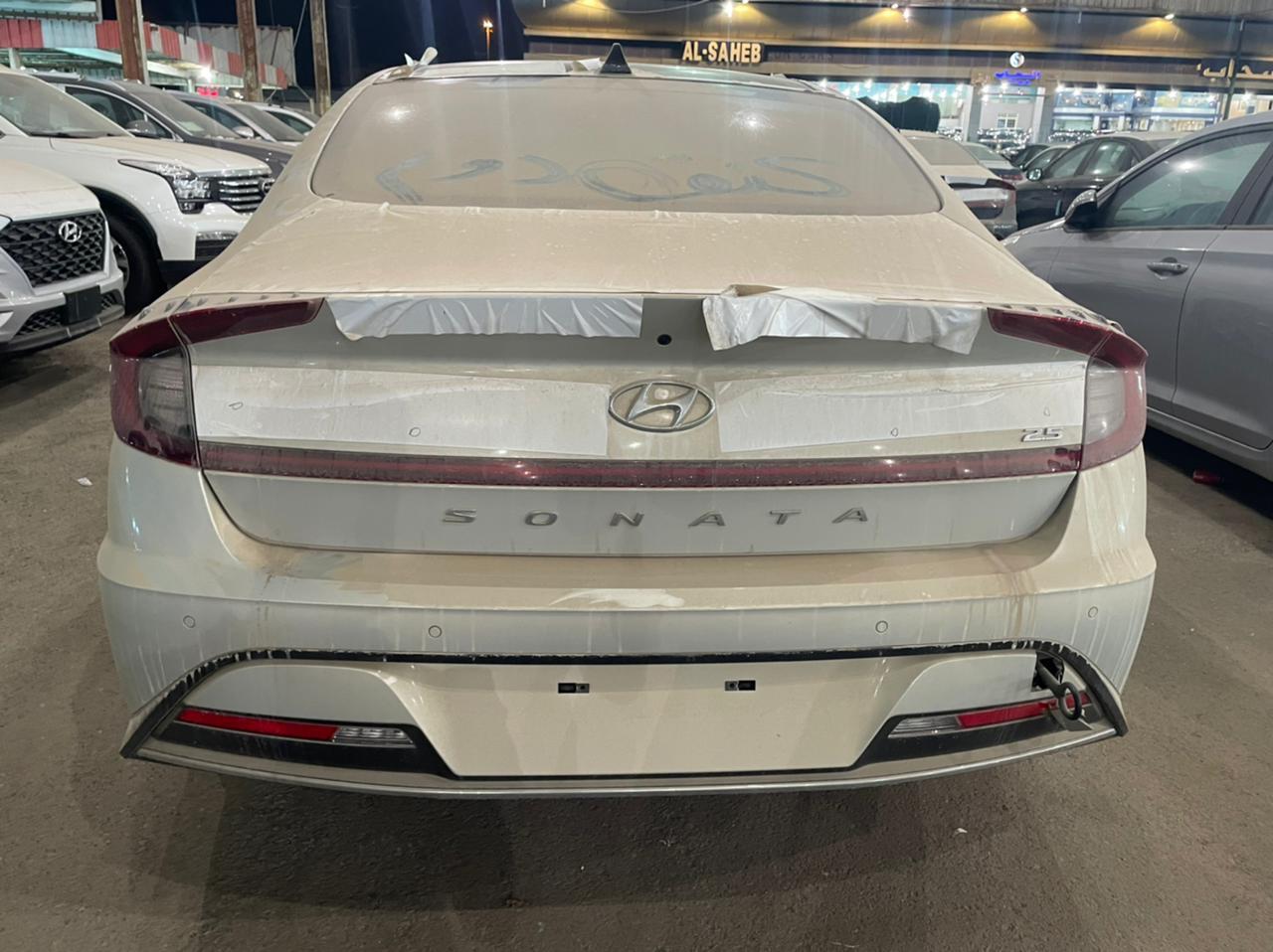 مباع - هونداي سوناتا Smart Plus نص فل 2021  سعودي جديد للبيع في جدة - السعودية - صورة كبيرة - 5