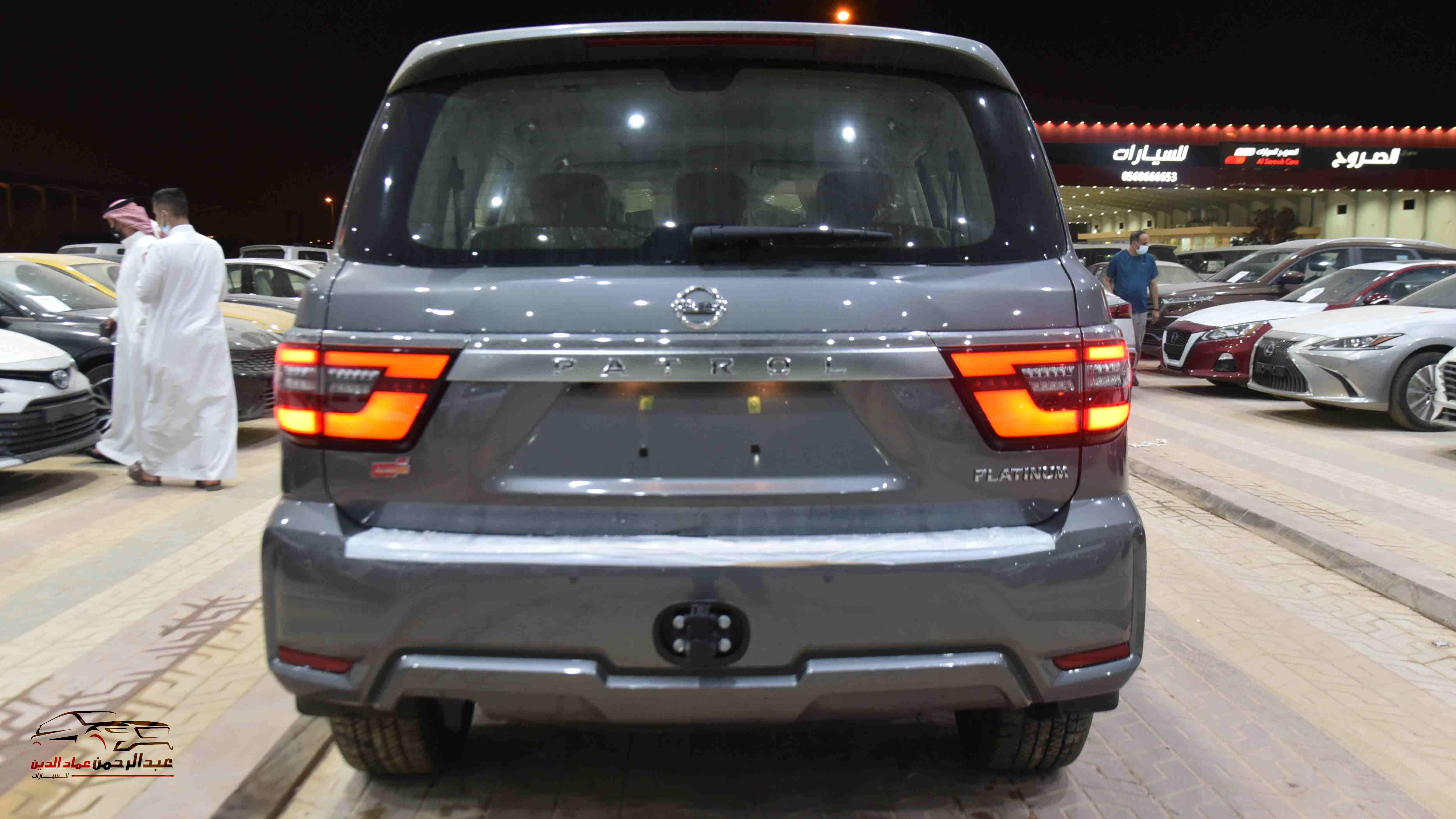 نيسان باترول 2021 V6  بلاتينيوم  SE  سعودي جديد  للبيع في الرياض - السعودية - صورة كبيرة - 3