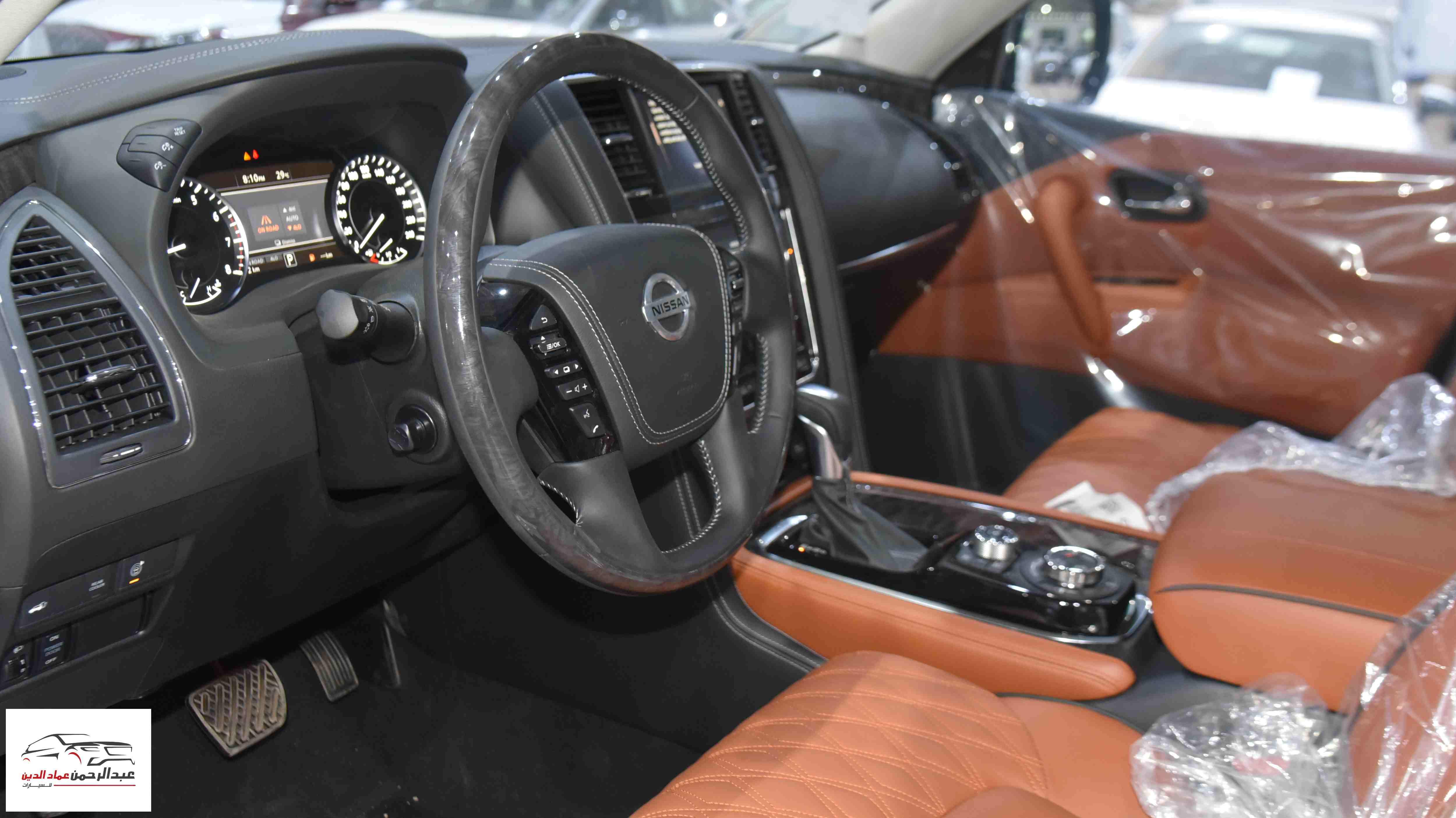 نيسان باترول 2021 V6  بلاتينيوم  SE  سعودي جديد  للبيع في الرياض - السعودية - صورة كبيرة - 9