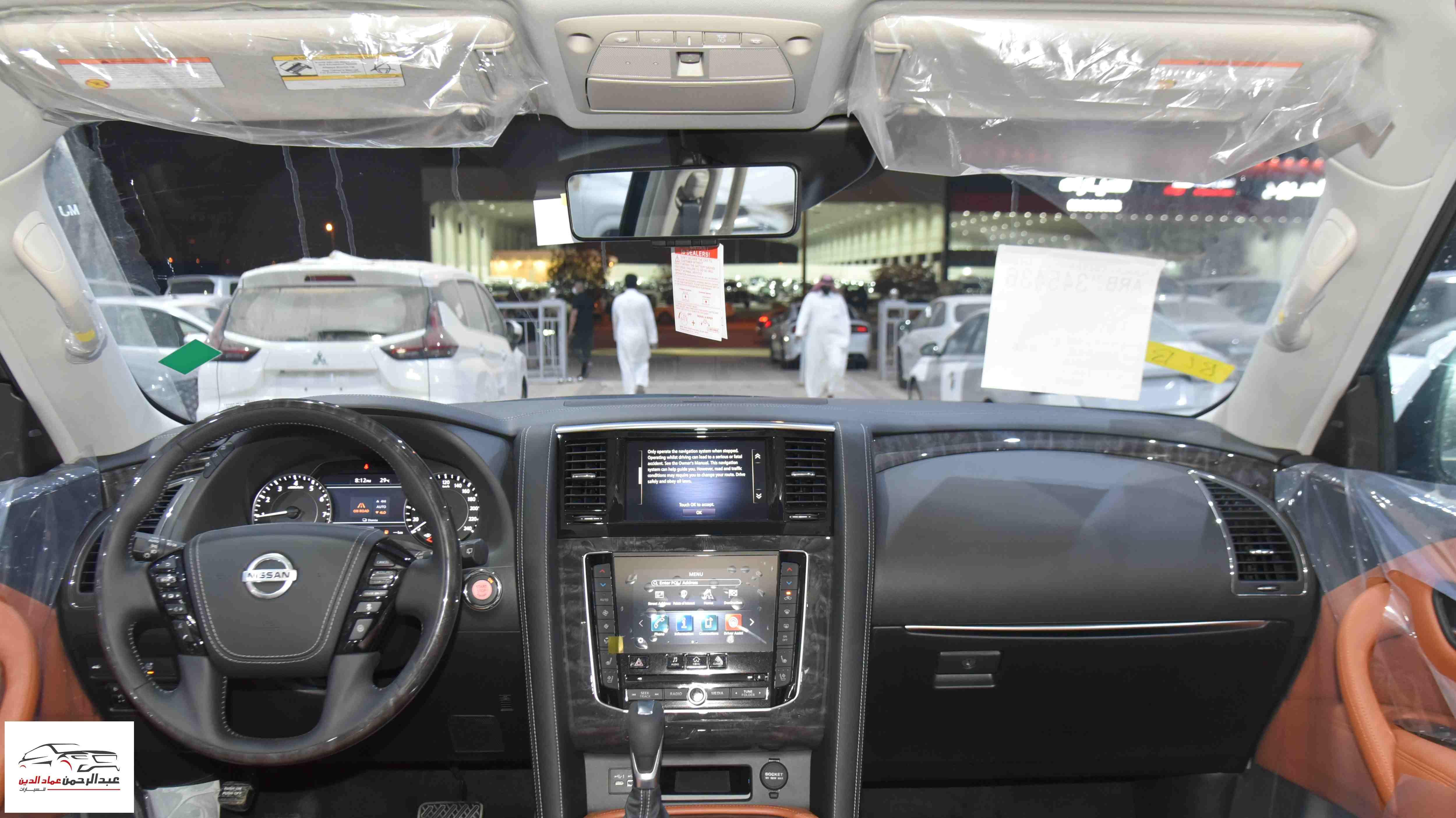 نيسان باترول 2021 V6  بلاتينيوم  SE  سعودي جديد  للبيع في الرياض - السعودية - صورة كبيرة - 10
