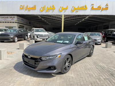 سيارة هوندا اكورد 2021 سبورت نص فل سعودي جديد للبيع