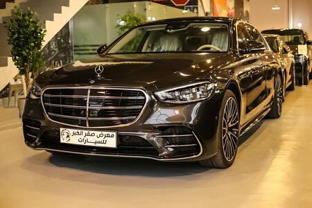مرسيدس S 450 فل 2021 سعودي جديد