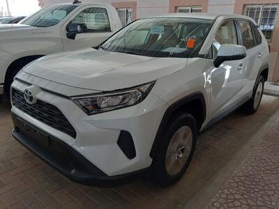 سيارة تويوتا راف فور LE 2021 دبل 4WD سعودي جديد للبيع