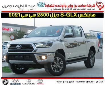 سيارة تويوتا هايلكس S-GLX فل 2021 دبل غمارتين ديزل سعودي جديد للبيع