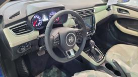 مباع - MG 5 نص فل COM سعودي 2021 جديد للبيع في الرياض - السعودية - صورة صغيرة - 14