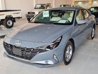 سيارة هونداي النترا Smart ستاندر 2021 سعودي جديد للبيع