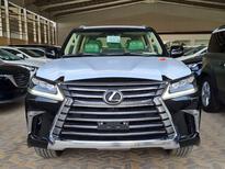 لكزس LX 570 2021 نص فل سعودي للبيع في الرياض - السعودية - صورة صغيرة - 6