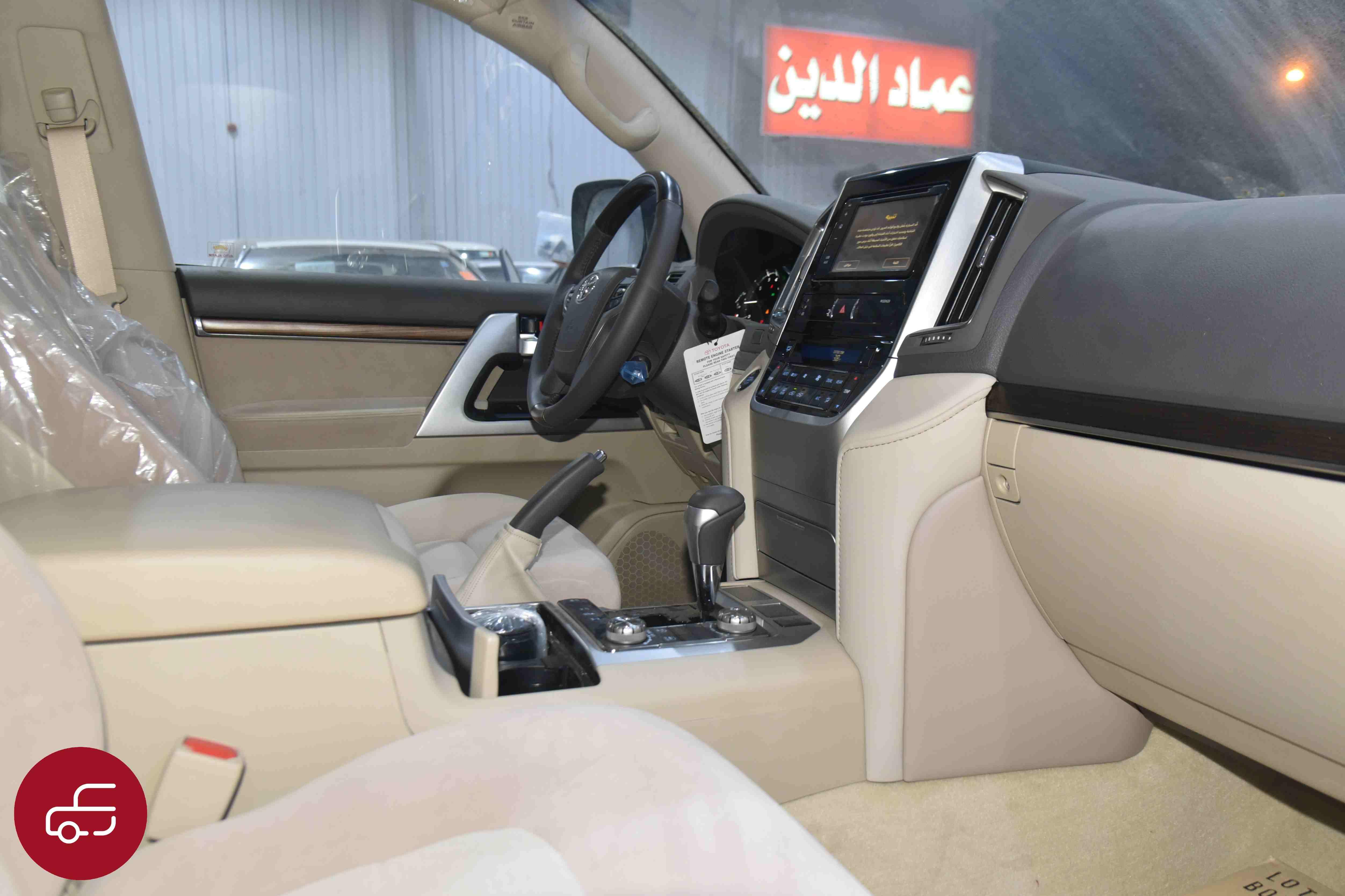 تويوتا لاندكروزر 2021 VXR   فتحة محرك 5.7 مخمل   كت خليجي جديد للبيع في الرياض - السعودية - صورة كبيرة - 7