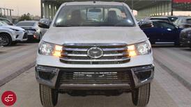 تويوتا هايلكس  2021  غمارة   GLX دبل  بنزين سعودي جديد للبيع في الرياض - السعودية - صورة صغيرة - 2