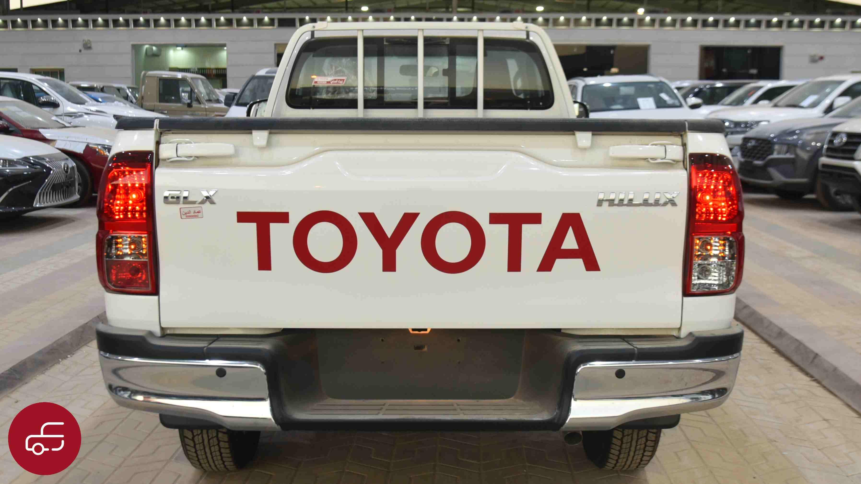 تويوتا هايلكس  2021  غمارة   GLX دبل  بنزين سعودي جديد للبيع في الرياض - السعودية - صورة كبيرة - 5