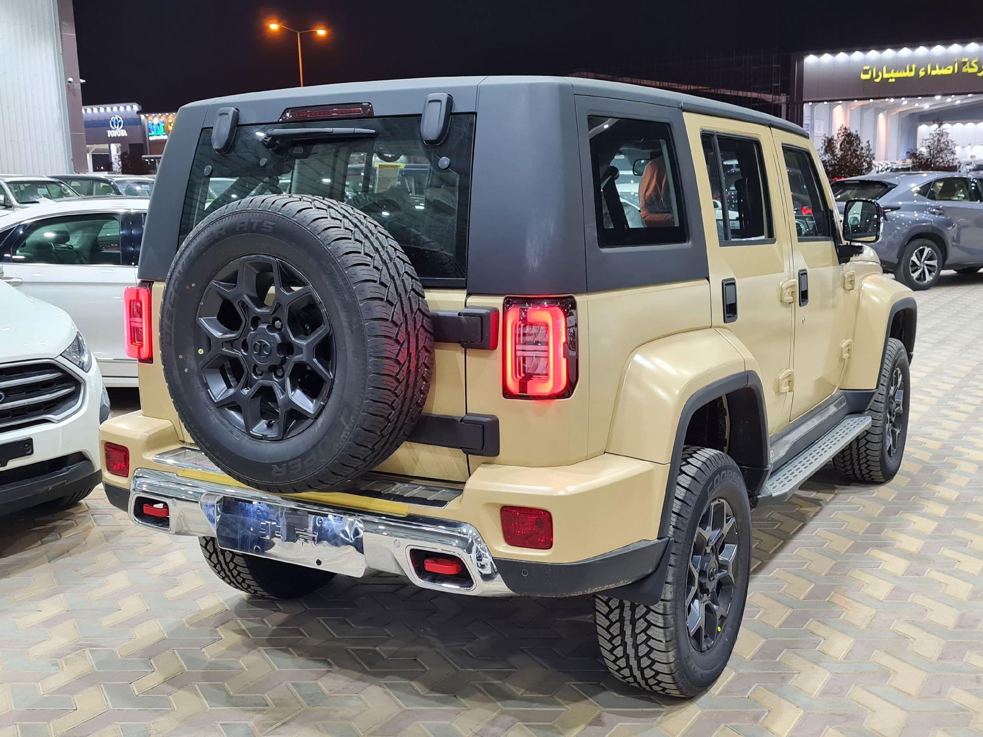 بايك BJ40L 2022 فل سعودي للبيع في الرياض - السعودية - صورة كبيرة - 4