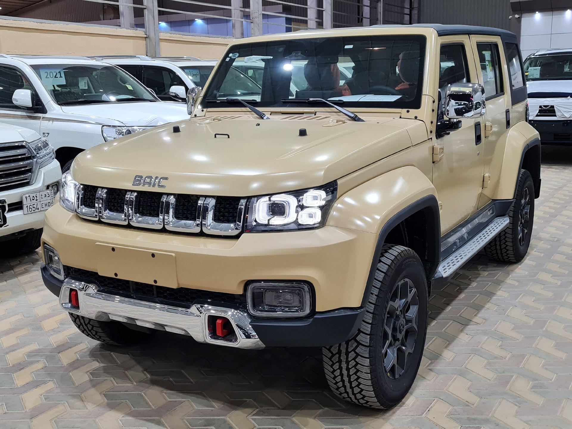 بايك BJ40L 2022 فل سعودي للبيع في الرياض - السعودية - صورة كبيرة - 1
