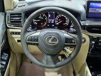 لكزس LX 570 2021 نص فل سعودي للبيع في الرياض - السعودية - صورة صغيرة - 10