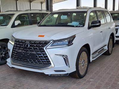 مباع - لكزس LX 570-S Sport 2021 فل سعودي - الصورة الرئيسية