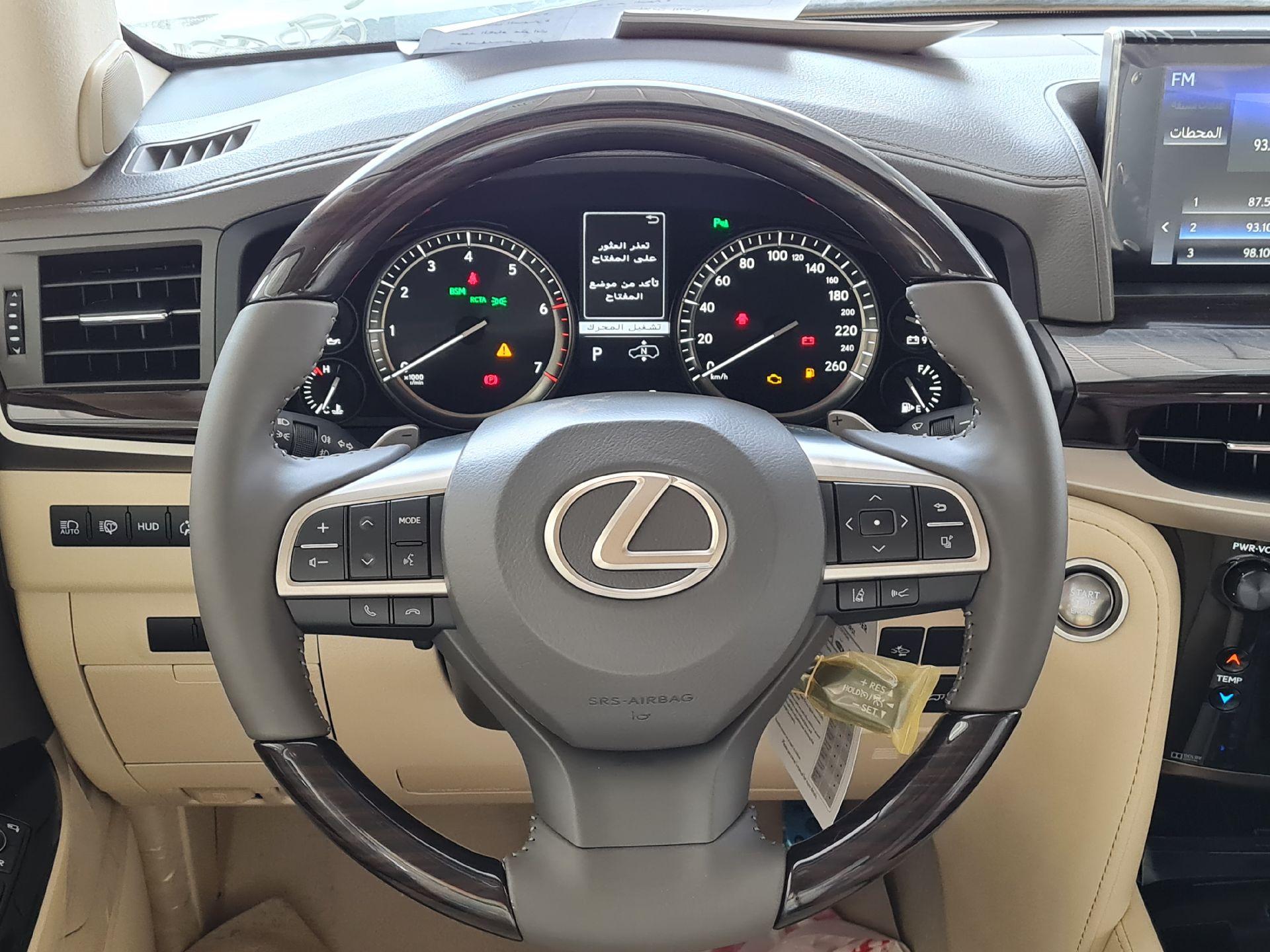 مباع - لكزس LX 570-S Sport 2021 فل سعودي للبيع في الرياض - السعودية - صورة كبيرة - 15