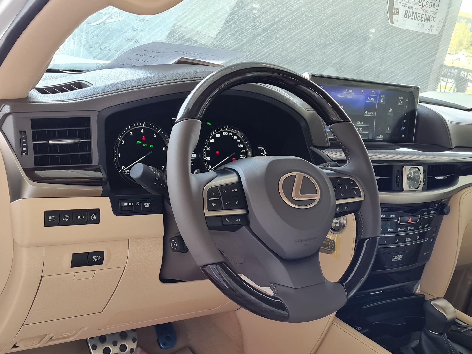 مباع - لكزس LX 570-S Sport 2021 فل سعودي للبيع في الرياض - السعودية - صورة كبيرة - 18