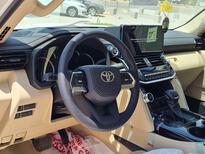 تويوتا لاندكروزر GXR-L3 2022 كشافات  سعودي للبيع في الرياض - السعودية - صورة صغيرة - 7