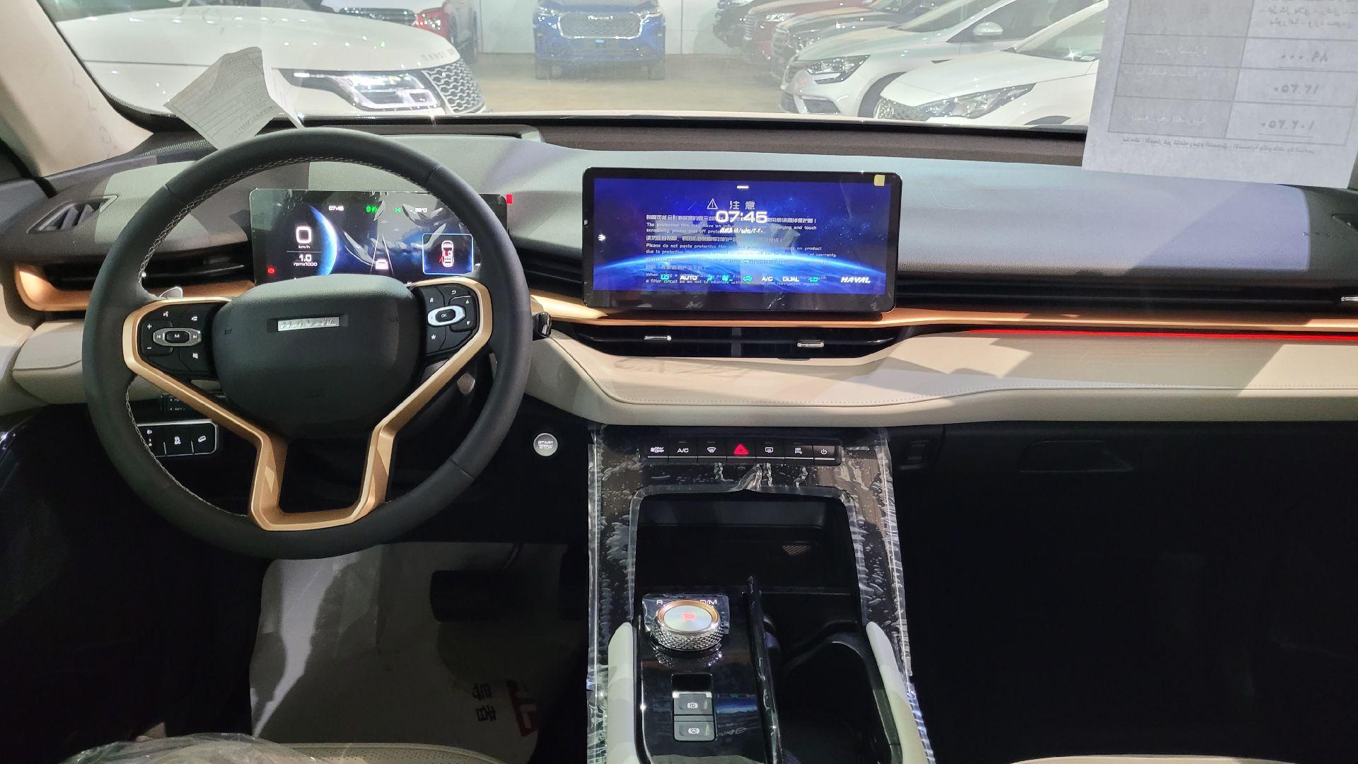 مباع - هافال H6 الشكل الجديد Premium 2022 فل سعودي للبيع في الرياض - السعودية - صورة كبيرة - 13