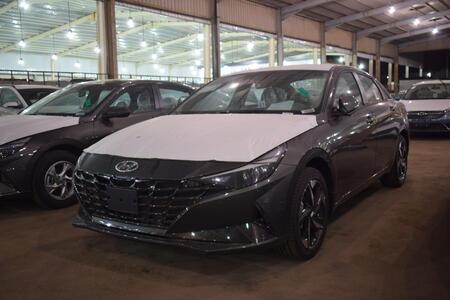 سيارة هونداي النترا MID 2022 نص فل سعودي للبيع