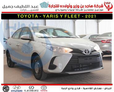 سيارة تويوتا  يارس  Y FLT  2021 ستاندر  للبيع