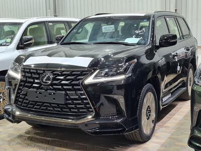 سيارة لكزس LX 570 Black Ed. 2021 فل سعودي للبيع