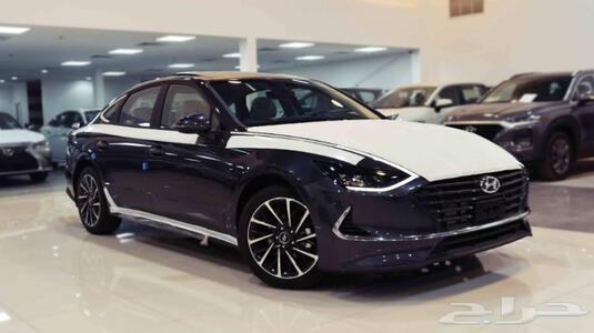 سيارة هونداي سوناتا 2020  نص فل 2.5  بانوراما مفتاح سعودي  للبيع